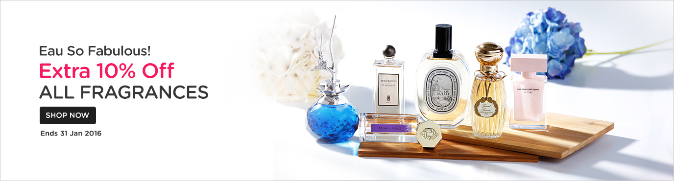 10% off All Fragrances!